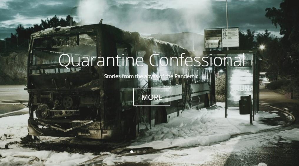 Quarantine Confession